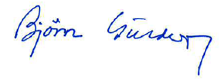 Bjørn Guldvog sign